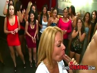 Bachelorette-party With Whipcream Bjs From Cougars