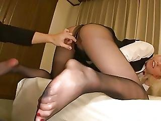 Pantyhose Stewardess