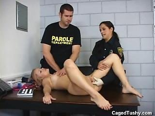 Anal, Babe, Fetish, Prison, Uniform