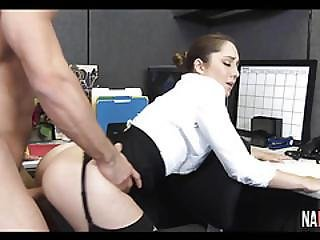 Bubble Butt Secretary Gets Fucked Silly Remy Lacroix