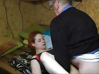 Stp4 Redhead Teen Loves Granddads Cum