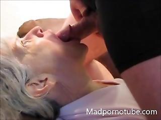 Granny Sucks Him Off