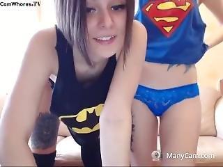leszbikus, leszbikus tini, Tini, játékszerek, webcam
