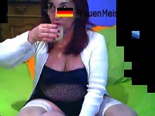 German Webcam Girl Asspounding