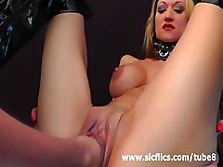 Busty Milf Loves Fisting And Huge Dildo Insertions