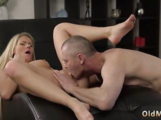 Old And Young Spanking Guy Fucks Babysitter She Is So