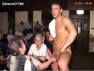 Cfnm Amateur Male Stripper Party