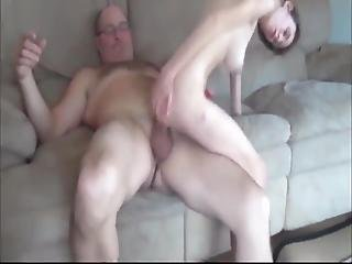 Old Man With Very Thick Cock Fuck Skinny And Busty Teen