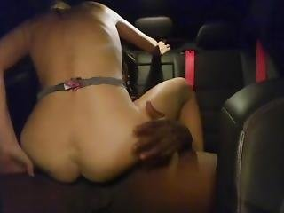 Sexy Blonde Milf Fuck Bbc On Backseat Car
