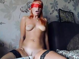 Bound Teen To Orgasm