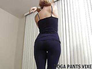 These Pussy Hugging Yoga Pants Are Making Me Wet Joi