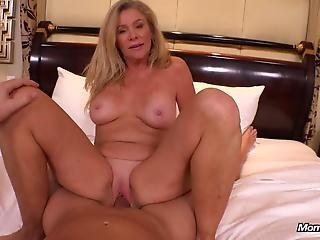 Cougar Loves Young Cock Pov