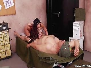 Hot Fuck With Asian Teen Babe With Long Brown Hair From The Awesome Parody Bros