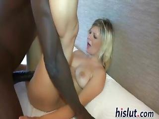 Making Her Moan With His Black Cock