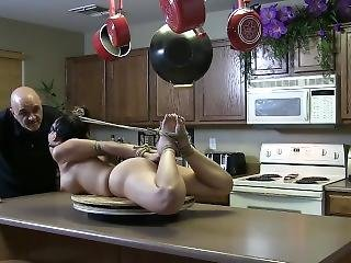 Asian Apprehanded And Hogtied Part 1