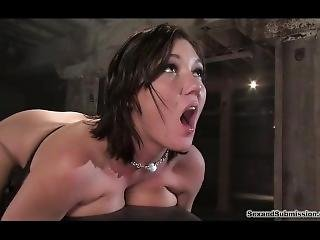 Big Tits Clamps Frogtied Bondage Sex P1 (more On Teenpornmaster)