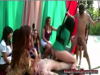 Restrained Cfnm Cock Watches Lesbos
