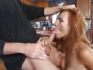 Redhead Milf Kelly Steele Blowjob And Facial
