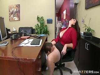 Deepthroating Blowing In The Office
