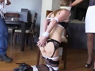 Tied Up After Doing A Lap Dance