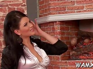 Lesbian Bitches In Femdom Scenes Using Water For Sexual Delight