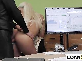 Huge Tits Milf Does Anything For A Loan To Open Her Lingerie Store