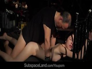 Teen Brutal Fucked And Punished In Hard Bdsm