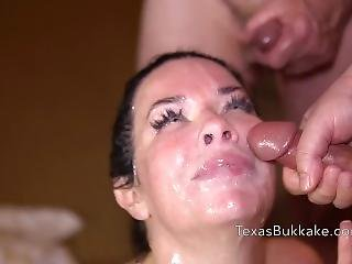 Veronica Avluv Only Slut Invited In A Party With 15 Men