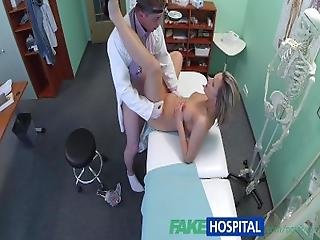 Fakehospital Stunning Blonde Wants Doctor To Prescribe His Cock