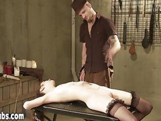 Amateur Cat First Time Bdsm Experience With Maste Arcus