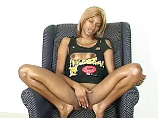 Masturbation In The Couch Legs Split