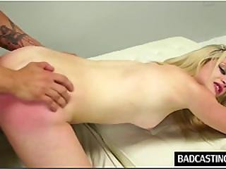 Blonde Teen Ellie Enjoys Rough Sex