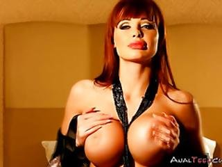 Aletta Ocean Plays With Her Massive Hooters