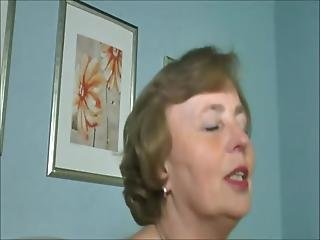Grandma Fuck-queen Squats And Gets Treat