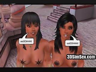 Big Tit 3d Blowjob