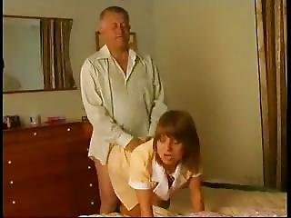 Older Guy Fucks Maid