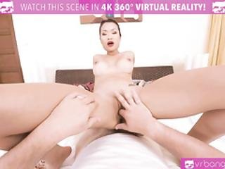 Vr Porn- Hot Asian Pussykat Is Getting Fucked Hard By A Big Cock And Cumshot