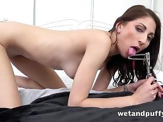 Wetandpuffy - Nicol Love Teases Her Pussy With Lots Of Sex Toys To Orgasm