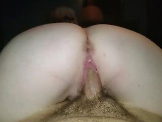 Brunette Girl With Really Wet Pussy And Fat Ass Rides Cock In Reverse Pov