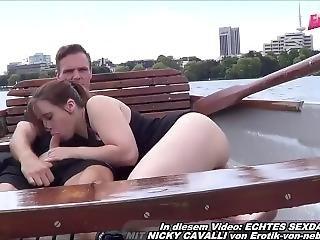 German Amateur Teen Slut Make Outdoor Porn Pov In Boat