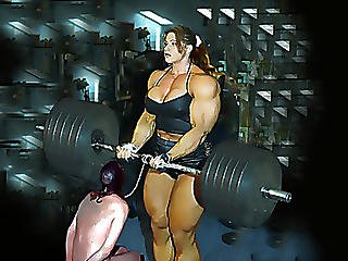Art, Babe, Bbw, Busty, Cartoon, Comic, Femdom, Fitness, Hardbodied, Muscled, Toon, Workplace, Wrestling