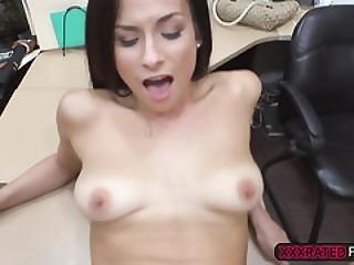 Natural Blonde Babe Alexis Deen Pawnshop Sex Tape