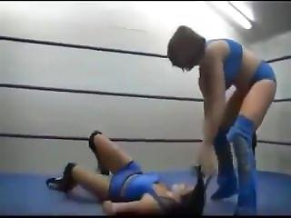 Hair Pulling Wrestling Girls