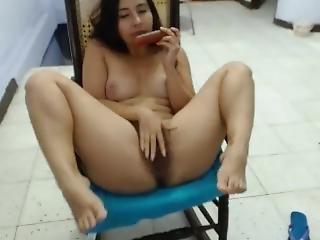 Sexy Latina With Sexy Feet