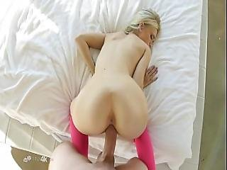 Tiny Babe Takes Down A Massive Cock.mp4