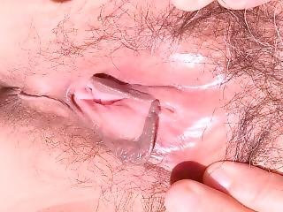 Stretched Pink Pussy Ass Close Up Very Wet Asian Milf Claire Zhang Pov