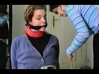 Bound Gagged German Bondage