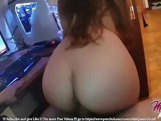 Little Teen Fucked Watching Hentai Lesbian Porn Before Sleep !!! - Miaqueen