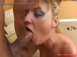 Blonde Teen Is Trained Hard Brutal