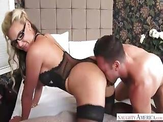 Stepmother Phoenix Marie Seduced Hard Cock